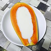 木瓜牛奶冻的做法图解5
