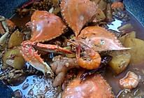 肉蟹煲(没有肉蟹)的做法