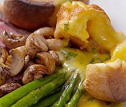 【约克郡布丁】鸡蛋还可以做这么简单、洋气的馍!的做法