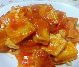 豆腐遇上西红柿的做法