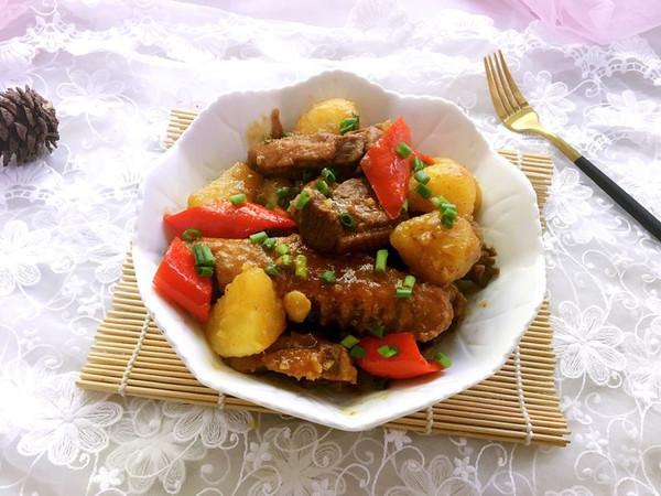土豆焖鸭的做法