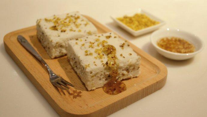 金秋桂语——桂花松糕