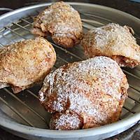 不用一滴油的-- 烤箱版炸鸡 的做法图解4