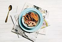 莲藕章鱼瘦肉汤的做法