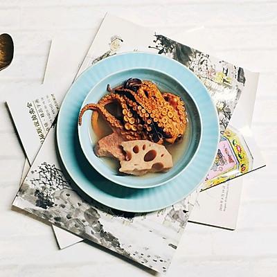 莲藕章鱼瘦肉汤