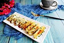 #精品菜谱挑战赛#早餐+焦香猪肉香菇锅贴的做法
