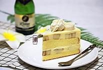 香蕉白巧芝士慕斯蛋糕的做法