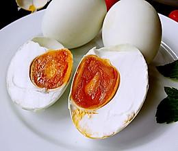 腌油黄咸鸭蛋的做法