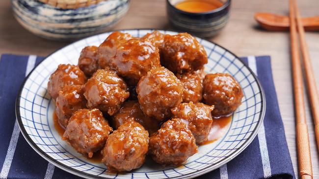 醋溜丸子【孔老师教做菜】的做法