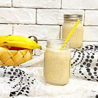 #花10分钟,做一道菜!#香蕉花生奶昔的做法图解9