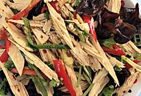 凉拌腐竹➕木耳的做法