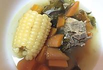 四季补钙玉米排骨海带汤(简易版》的做法