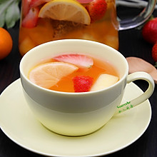 蜂蜜水果茶#舌尖上的春宴#