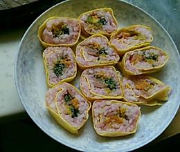 蛋卷寿司…(宝宝餐)的做法