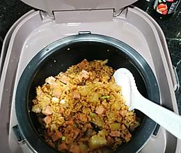 午餐肉焖饭,让你一碗又一碗的做法