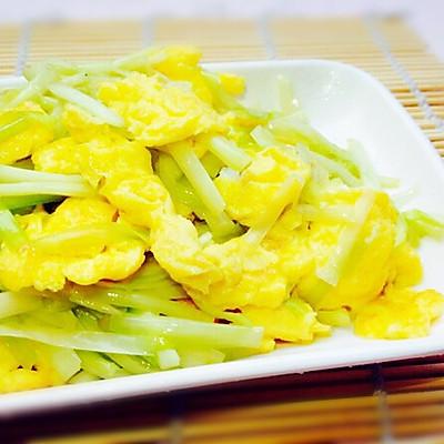 炒出水嫩鸡蛋--韭黄炒鸡蛋