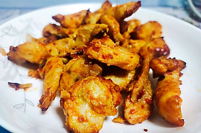 空气炸锅蜜汁蜂蜜鸡胸肉