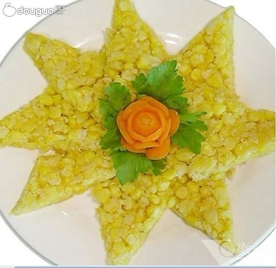 潮汕玉米烙的做法