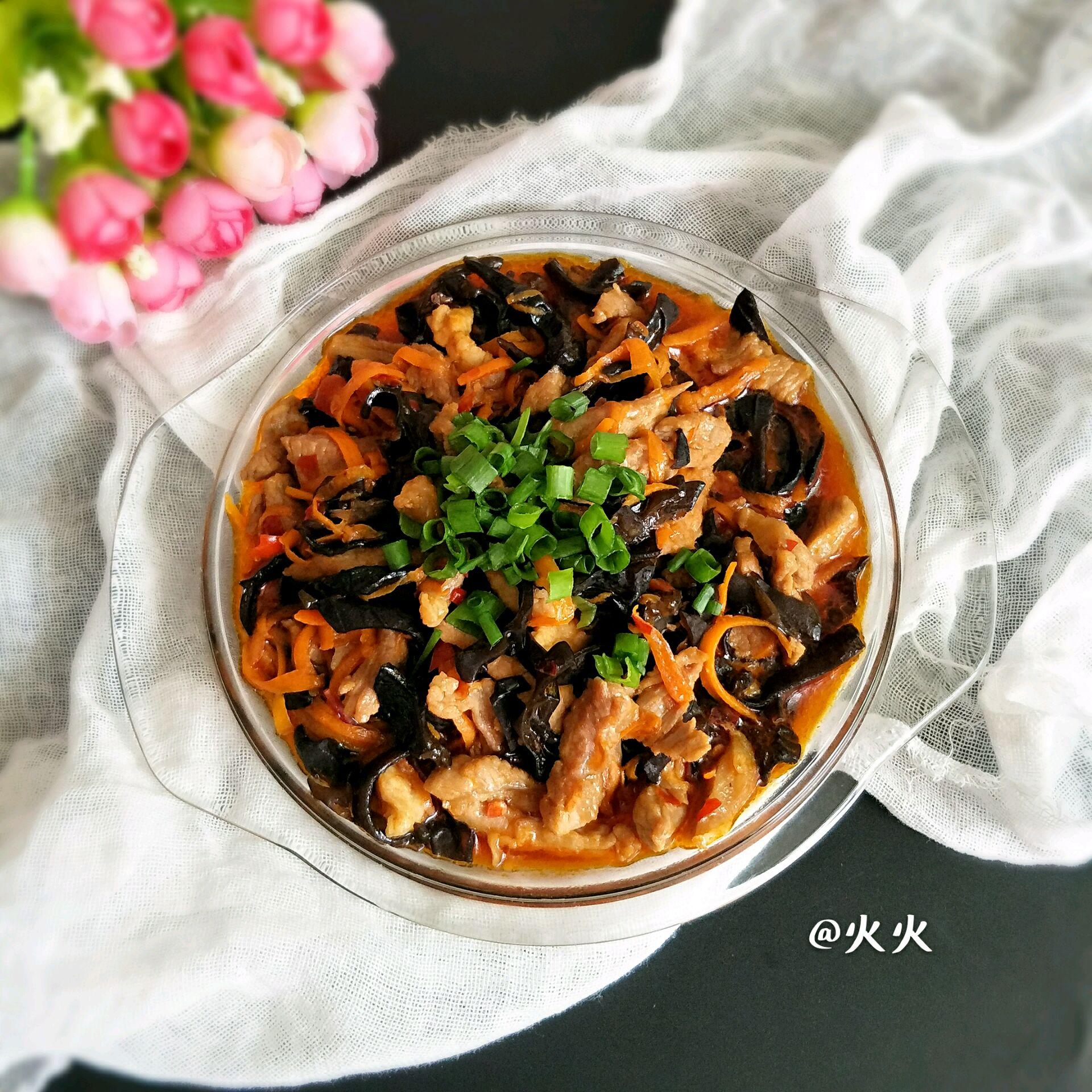 黑木耳�9�y�*:,_家常鱼香肉丝的做法_【图解】家常鱼香肉丝怎么做如何做好吃