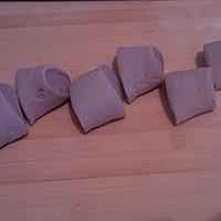 三色春饼荷叶蒸饼的做法图解3