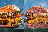 #豆果10周年生日快乐#全麦脆皮鸡腿堡的做法