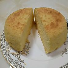 椰蓉戚風蛋糕(不銹鋼盆)