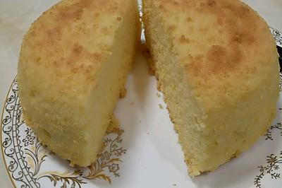 椰蓉戚风蛋糕(不锈钢盆)