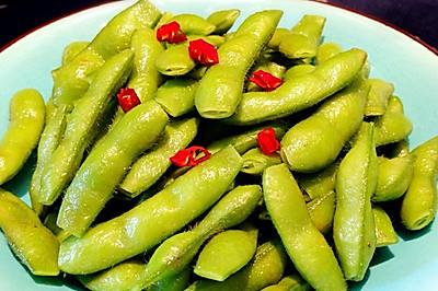 糟味五香毛豆节