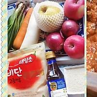 韩国泡菜+白萝卜(正宗版)的做法图解3