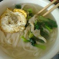 简单蘑菇青菜面的做法图解5