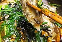 小姨妈豆豉小葱烧带鱼的做法