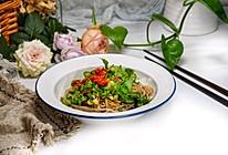 #下饭红烧菜#酸辣凉拌荞麦面的做法