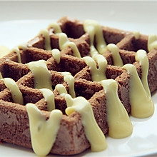 风味格格——巧克力华夫饼
