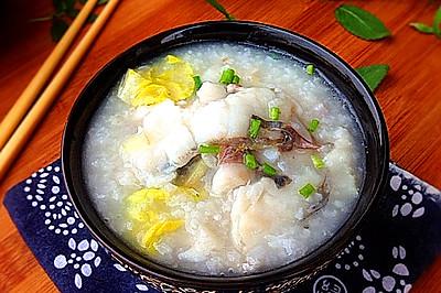 鱼片粥------节后养胃必备