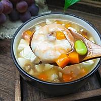 虾仁蔬菜羹的做法图解12