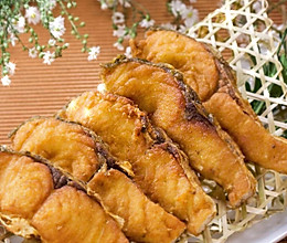 香酥炸鱼块的做法