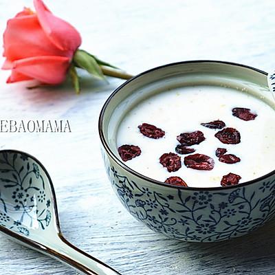 快手早餐之蜂蜜燕麦蔓越莓粥