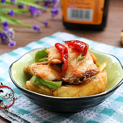 辣椒炒鱼片