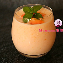 #520,美食撩动TA的心!#为她做杯丰胸美容的木瓜西米露吧