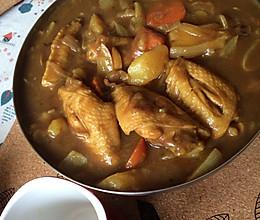 日式咖喱鸡翅的做法