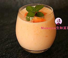 #520,美食撩动TA的心!#为她做杯丰胸美容的木瓜西米露吧的做法