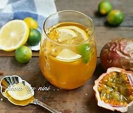 百香果金桔柠檬茶的做法