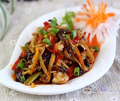 鱼香肉丝,极度经典的美味。