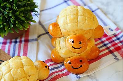献礼儿童节的小乌龟菠萝包#一机多能 一席饪选#