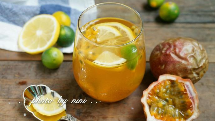 百香果金桔柠檬茶