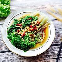 #春天肉菜这样吃#蚝油生菜的做法图解15