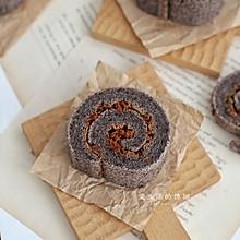 黑米肉松蛋糕卷