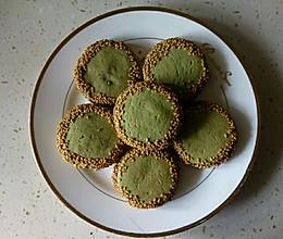 绿茶香佛饼的做法