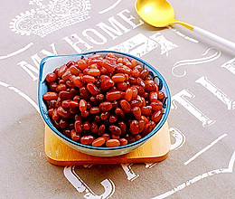蜜红豆~~夏日甜品必备的做法