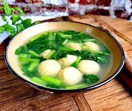 #夏日消暑,非它莫属#十分钟快手菜——鱼丸青菜汤的做法